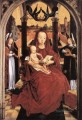 Virgin and Child Enthroned with two Musical Angels Netherlandish Hans Memling