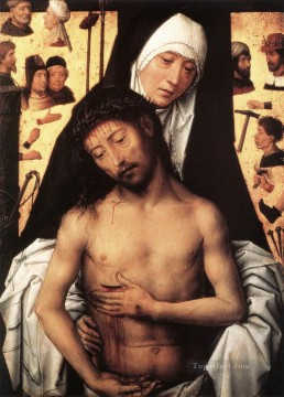 Hans Memling Painting - The Virgin Showing the Man of Sorrows 1475or 1479 Netherlandish Hans Memling