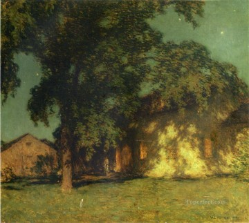 Summer Art - Summer Night No 2 scenery Willard Leroy Metcalf