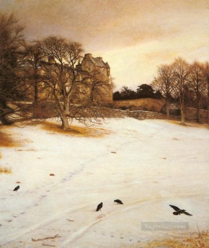 Christmas Eve 1887 Pre Raphaelite John Everett Millais Oil Paintings