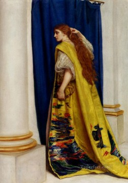 the Canvas - Esther Pre Raphaelite John Everett Millais