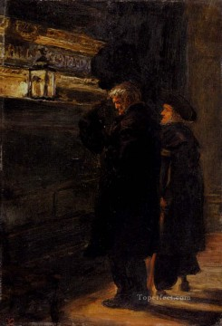 john painting - Grenwich Pensioners At The Tomb Of Nelson Pre Raphaelite John Everett Millais