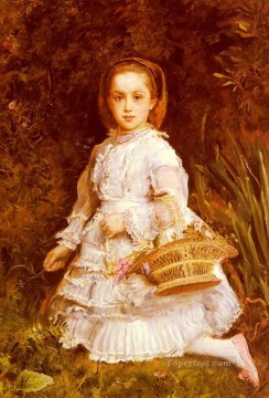 john painting - Portrait Of Gracia Lees Pre Raphaelite John Everett Millais