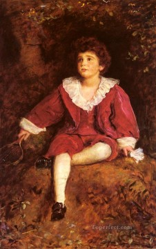 john painting - The Honourable John Nevile Manners Pre Raphaelite John Everett Millais