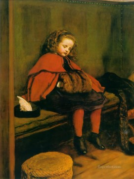 john painting - my second sermon Pre Raphaelite John Everett Millais