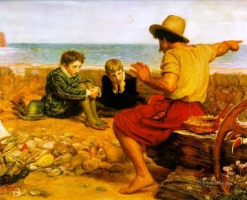Walter Works - the childhood of walter raleigh Pre Raphaelite John Everett Millais