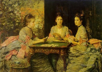 Heart Painting - hearts are trumps Pre Raphaelite John Everett Millais