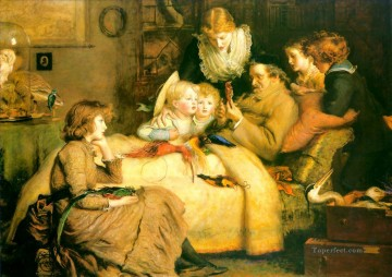 ruling passion Pre Raphaelite John Everett Millais Decor Art