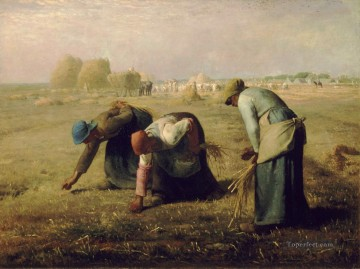 Jean Francois Millet Painting - The Gleaners Jean Francois Millet
