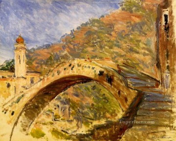 Bridge at Dolceacqua Claude Monet Oil Paintings