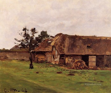 farm Works - Farm near Honfleur Claude Monet