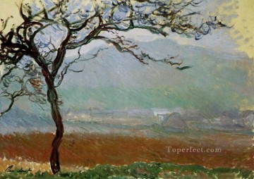 Landscape at Giverny Claude Monet Oil Paintings