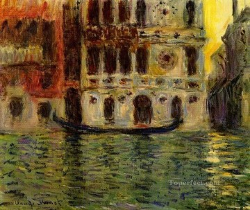 Claude Monet Painting - Palazzo Dario III Claude Monet