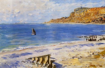 Sainte Painting - SainteAdresse Claude Monet