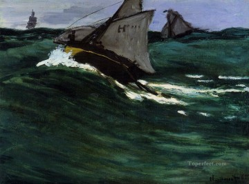 The Green Wave Claude Monet Oil Paintings