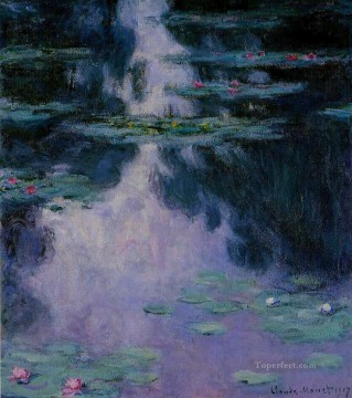 Water Works - Water Lilies IV Claude Monet
