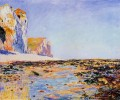 Beach and Cliffs at Pourville Morning Effect Claude Monet