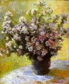 Bouquet of Mallows Claude Monet
