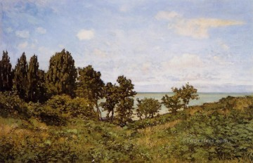 by Works - By the Sea Claude Monet