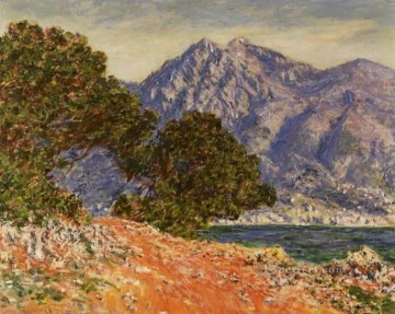 Cap Martin Claude Monet Oil Paintings