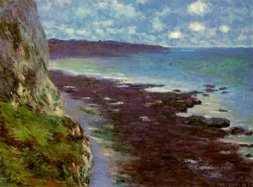Cliff near Dieppe Claude Monet Oil Paintings