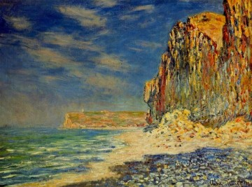 Cliff near Fecamp Claude Monet Oil Paintings