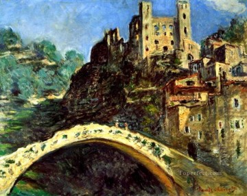Claude Monet Painting - Dolceacqua Claude Monet