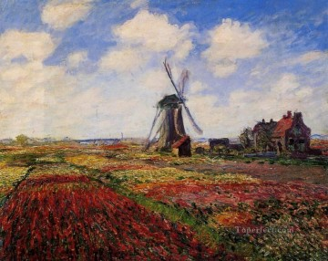 Field of Tulips in Holland Claude Monet Oil Paintings