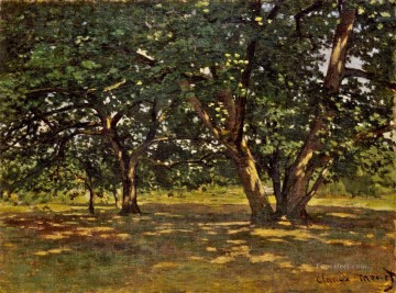 Fontainebleau Forest Claude Monet Oil Paintings