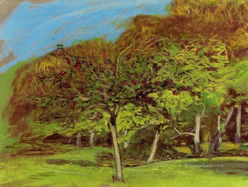 Tree Painting - Fruit Trees Claude MonetNo dates listed