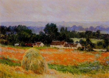 Haystack at Giverny Claude Monet Oil Paintings