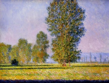 Landscape with Figures Giverny Claude Monet Oil Paintings