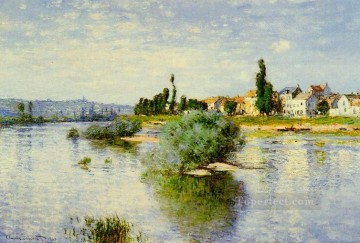 Monet Oil Painting - Lavacourt Claude Monet