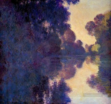 mornings on the seine monet Painting - Morning on the Seine Clear Weather II Claude Monet