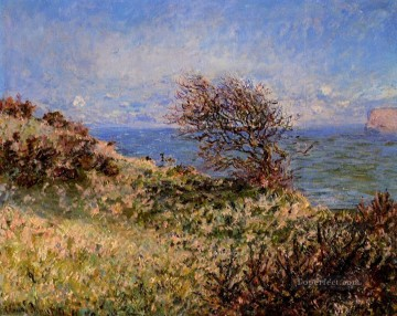 On the Cliff at Fecamp Claude Monet Oil Paintings