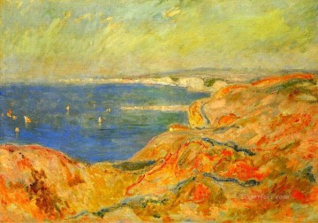 On the Cliff near Dieppe II Claude Monet Oil Paintings