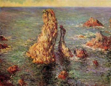 Pyramids at PortCoton Claude Monet Oil Paintings