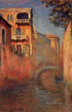 Rio della Salute II Claude Monet Oil Paintings