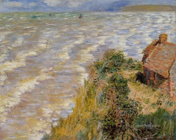 Rising Tide at Pourville Claude Monet Oil Paintings