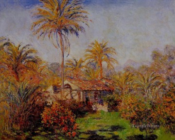 Small Country Farm in Bordighera Claude Monet Oil Paintings
