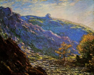 Sun Oil Painting - Sunlight on the Petit Cruese Claude Monet