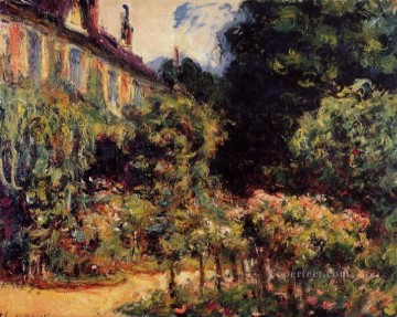 The Artist s House at Giverny Claude Monet Oil Paintings