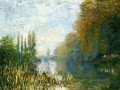 The Banks of The Seine in Autumn Claude Monet