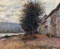 The Banks of the Seine at Claude Monet