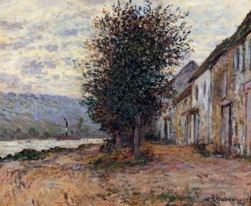 The Banks of the Seine at Claude Monet Oil Paintings