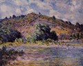 The Banks of the Seine at PortVillez Claude Monet