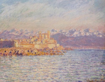 Monet Oil Painting - The Bay of Antibes Claude Monet