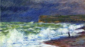 The Beach at Fecamp Claude Monet Oil Paintings