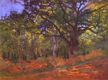 The Bodmer Oak Fontainebleau Claude Monet Oil Paintings