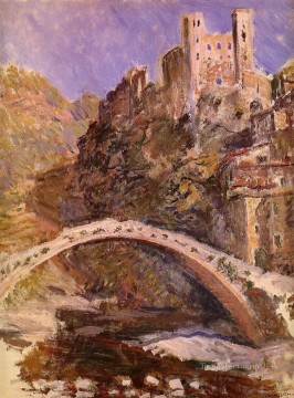 The Castle at Dolceacqua Claude Monet Oil Paintings